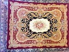 Custom Needlepoint Rug in British Style