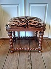 French Baroque Style Carved Bench