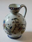 French Faience Pitcher, Gien, Circa, 1860-1871