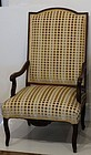 Regence Beechwood Open Armchair, coirca 1710