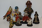 Collection of Cast Iron Door Stops, American, late 19th/early 20thC