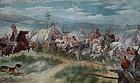 Nordic History Painting, European, circa 1900,