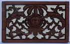 French Carved Pine Architectural Ornament, 18th century