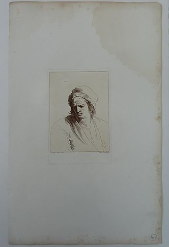Prints of Portraits by Guiseppe Zocchi (1711-1767)