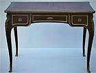 19th century Bronze Mounted Mahogany Bureau Plat Table