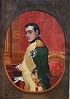 French School Portrait of Napolean, 19th C.