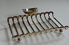 Silver-Plated Toast Rack, circa 1900