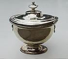 Continental Silver Covered Bowl, circa 2nd quarter 19th C