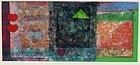 Sam Gilliam, Jr., American born 1933. Artist Proof Print