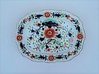 English Ironstone Platter with Imari Decorations