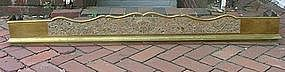 George III-Style Brass Fender, Mid- to Late 19th c