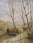 Attrib. to Franz van Leemputten, Belgian 1850-1914
