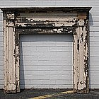 American Painted Pine Mantel, circa 1845