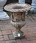 American Cast Iron Campana Urn, late 19th C.