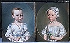 J. P. Vallen (?) Austrian/German, Pair of Portraits