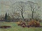 J. Bentzen-Teglstrup, Danish Impressionist, dated 1936