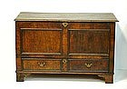 Continental Walnut Blanket Chest, prob. Dutch, E.18thC