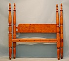 Federal Maple Bed, circa 1825-30.