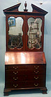 George III Mahogany Secretary Bookcase, circa 1760