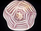 Murano BAROVIER Toso FENICIO Purple Gold Flecks Bowl