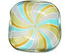 Murano GOLD FLECKS Zanfirico Ribbon PINWHEEL Bowl