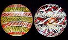 Murano SEGUSO Zanfirico Ribbons Glass Paperweights