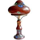 Murano NASON AVEM Calcedonio Millefiori Mushroom Lamp