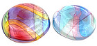 ARCHIMEDE SEGUSO Murano SIGNED CARNEVALE Paperweights