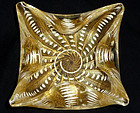 BAROVIER TOSO Murano GOLD FLECKS Punti Design Bowl
