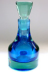 SEGUSO Vetri D' Arte Murano Sommerso PERFUME Bottle