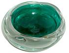 BARBINI VAMSA Murano 30s GOLD FLECKS Decorative Bowl