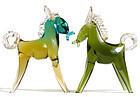 BARBINI Murano 50s SOMMERSO Gold Flecks HORSE Sculpture