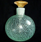 SEGUSO Murano MERLETTO Ribbons 1950s Perfume Decanter
