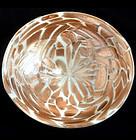 TOSO Murano Heavy AVENTURINE FLECKS Decorative Bowl