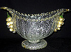 Murano BAROVIER TOSO SILVER GOLD FLECKS Bowl VASE