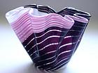 Murano MARTENS AURELIANO TOSO 3 Color Fazzoletto Vase