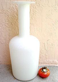 DANISH MODERN Otto Brauer HOLMEGAARD 1960s Floor Vase