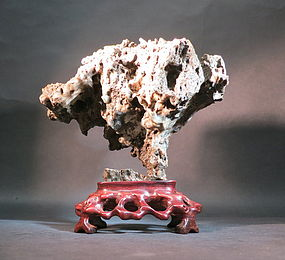 Chinese lingbi stone scholar sprite rock