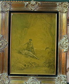Adam and Eve- Relif Etching on Metal