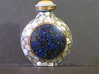 Qianlong Mark mosaic Chinese snuff bottle