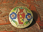 old Chinese cloisonne botton