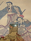 Chinese Kesi-woven silk painting