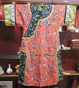Antique Chinese Manchu lady's robe