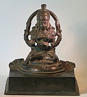 Nepalese devotional bronzes  of Manjushri