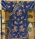 Antique Chinese embroidered  robe