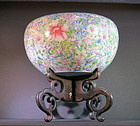 Antique Chinese Famille Rose 'Mille Fleur' Bowl