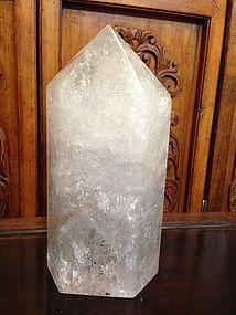 Beautiful nature rock crystal oblisk