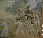 Chinese antique painting ink on paper
