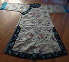 Elegant Chinese Manchu court-lady's robe