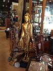 Thai Buddha large standing statue